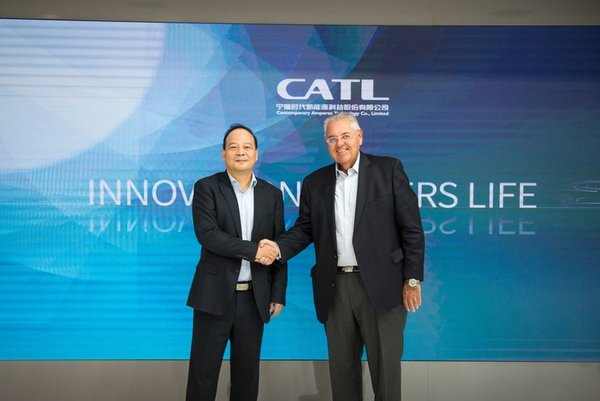 CATL and VWCO Collaborate to Speed up Global Commercial Vehicle Electrification