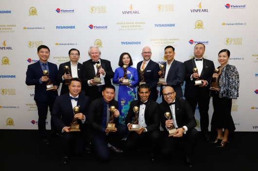 Sun Group enjoys major haul of honors at World Travel Awards Asia and World Luxury Hotels Awards