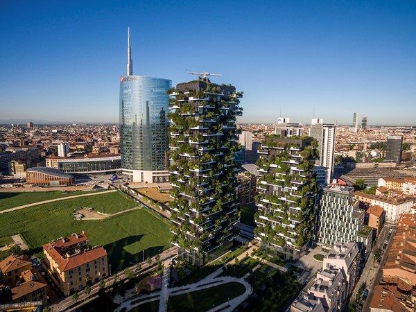 博埃里建筑垂直森林被命名为全球50座最具标志性的摩天大楼之一