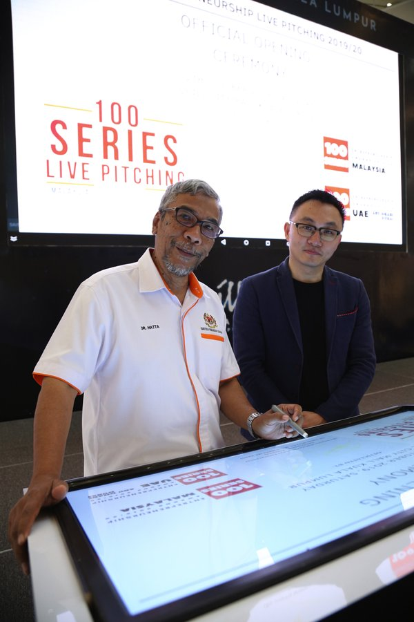 """100 SERIES ENTREPRENEURSHIP LIVE PITCHING Opening Ceremony Successfully Officiated by YB Datuk Wira Dr. Mohd Hatta MD Ramli, Deputy Minister Ministry Entrepreneur Development Malaysia"""