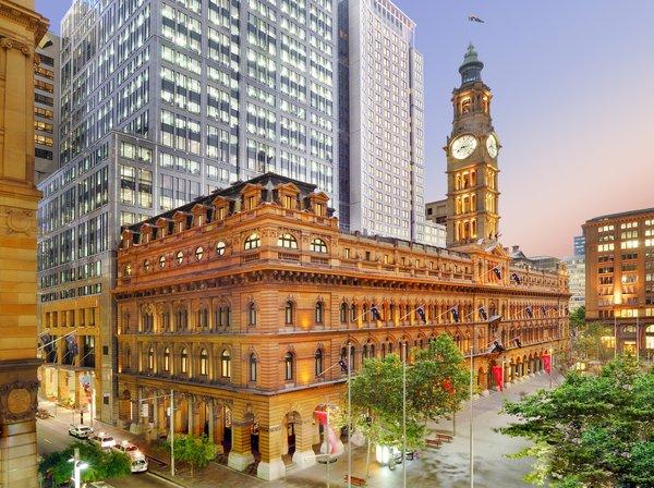 悉尼富丽敦酒店于马丁广场1号隆重登场