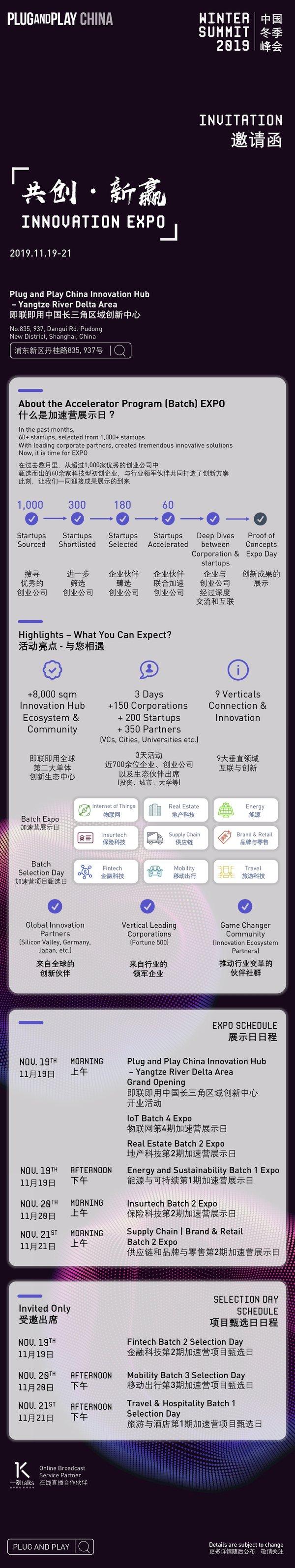 2019 Plug and Play中国冬季峰会正式拉开序幕,早鸟票同步开售
