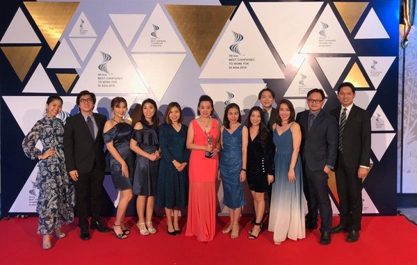 "Mundipharma Thailand Recognised as ""Best Companies to Work for in Asia"" Award"
