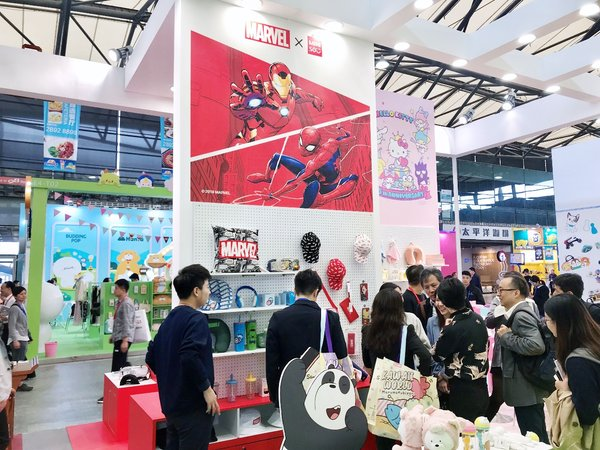 MINISO Attended 2019 China Licensing Expo with Licensing Products Collaborating with Hot IP