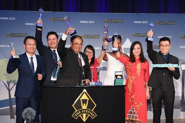 Viettel wins big at the International Business Awards 2019