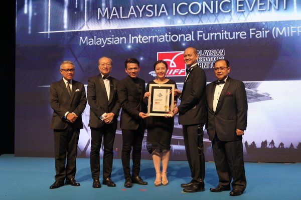 Malaysian International Furniture Fair Wins Inaugural Malaysia Iconic Event Award