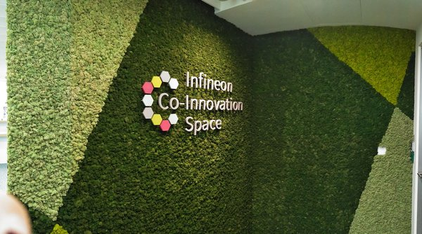 Infineon Co-Innovation Space gives start-ups access to Infineon's expertise, guidance and manufacturing facilities, as well as connections to major Infineon partners and customers.