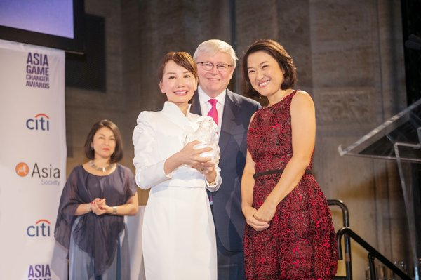 Ctrip CEO Jane Sun Receives Asia Game Changer Award