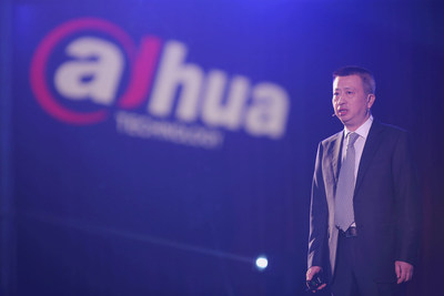 Mr. Ke Li, Dahua VP Giving a Speech