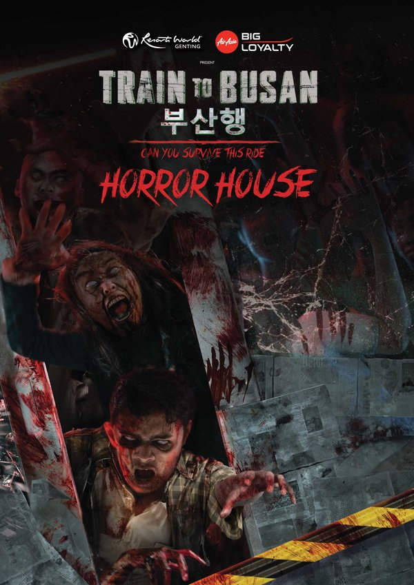 Train to Busan Horror House opening soon at Resorts World Genting