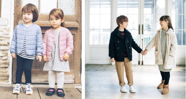 优衣库童装三大系列温暖上市 双十一陪伴孩子缤纷入冬