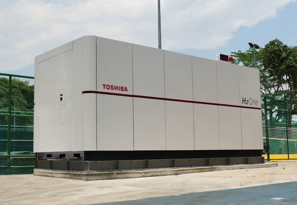 Toshiba's H2One(TM) Selected to Support Singapore's Research Efforts in Energy Sustainability