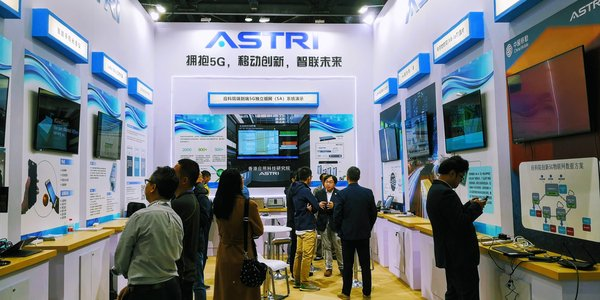 The Hong Kong Applied Science and Technology Research Institute (ASTRI) is showcasing its latest technologies at the PT EXPO China 2019 in Beijing