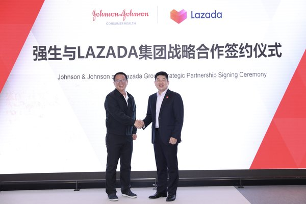 Johnson & Johnson and Lazada Group Enter Strategic Partnership