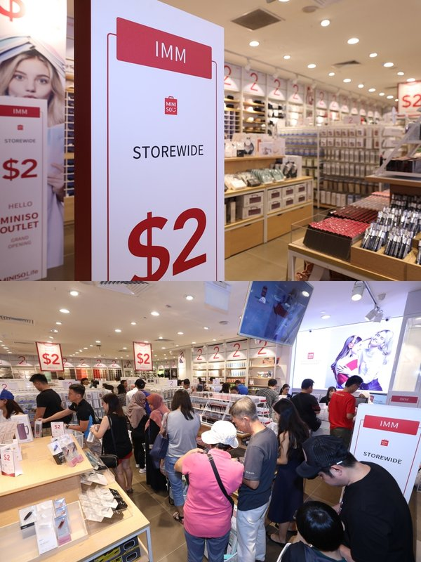 The 2SGD Sales Model of MINISO Outlet Is Well Received in Singapore