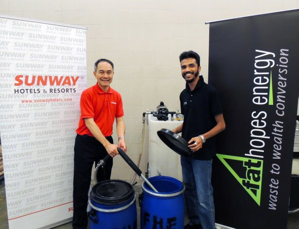 Sunway Hotels & Resorts Converts Used Cooking Oil into Biodiesel Through Partnership with Fathopes Energy
