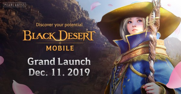 "Grand Launch of ""Black Desert Mobile"" Hits iOS and Android on December 11 Following 3 Million Pre-Registrations"