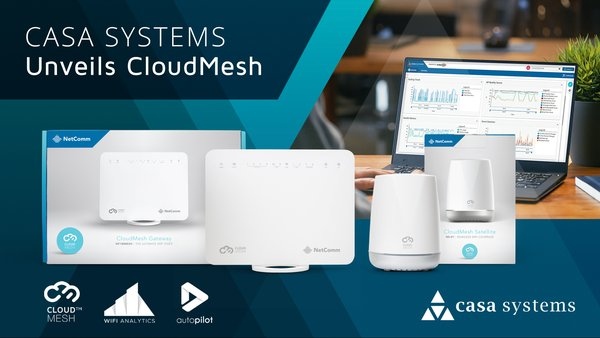 Casa Systems Unveils CloudMesh(TM)