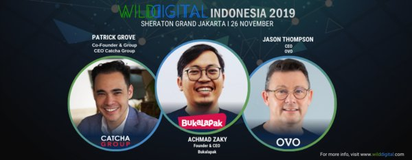 Double the Unicorns this November at Wild Digital Indonesia