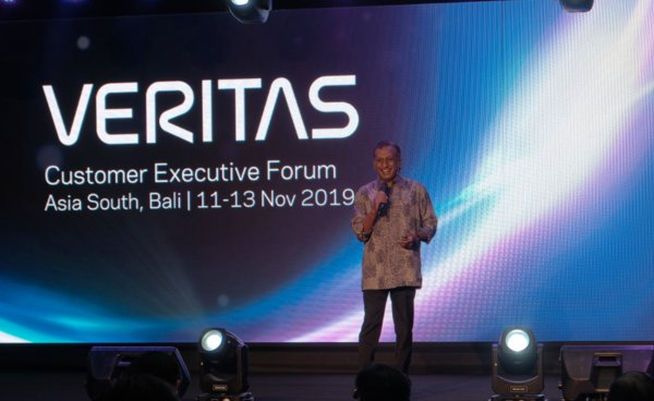 Welcome address: Ravi Rajendran, vice president and managing director of Asia South Region, Veritas