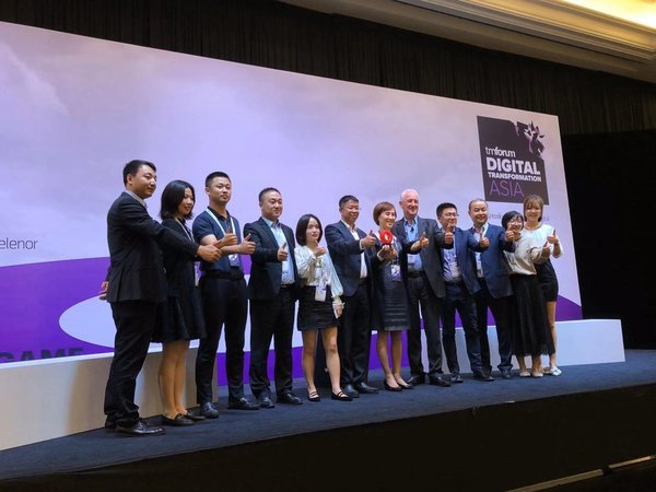 Program AI untuk Percepatan Data Pengebilan 5G Menang Anugerah Outstanding Catalyst-Innovation