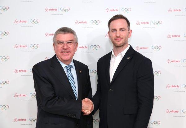 Airbnb爱彼迎与国际奥委会达成奥林匹克全球合作伙伴关系