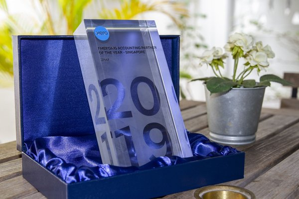 Sleek wins tech giant's Xero's award for Emerging Partner of 2019 in Singapore