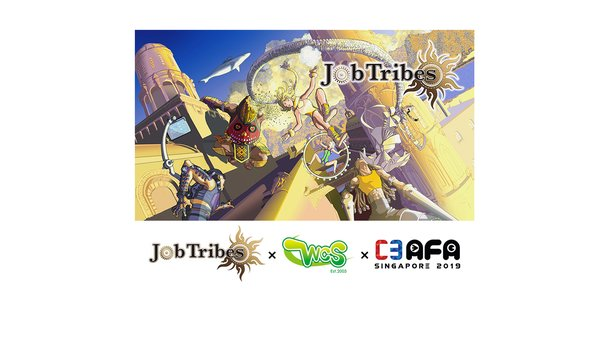 """Blockchain-linked game """"JobTribes"""" to feature at AFA Singapore in conjunction with the World Cosplay Summit"""