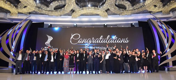 The Malaysia Edition of the HR Asia Best Companies to Work for in Asia(R) 2019 at Grand Hyatt Kuala Lumpur. 49 companies qualified this year out of the 359 participating companies.