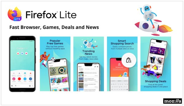 Firefox Lite Transforms into Multi-function Mobile Browser Platform