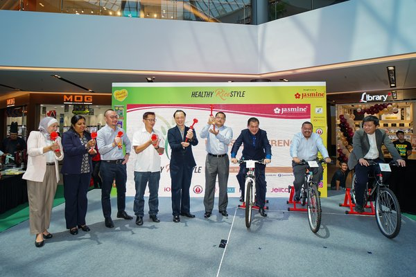 The official launching of Jasmine's Rice Day 2019, Healthy RiceStyle.
