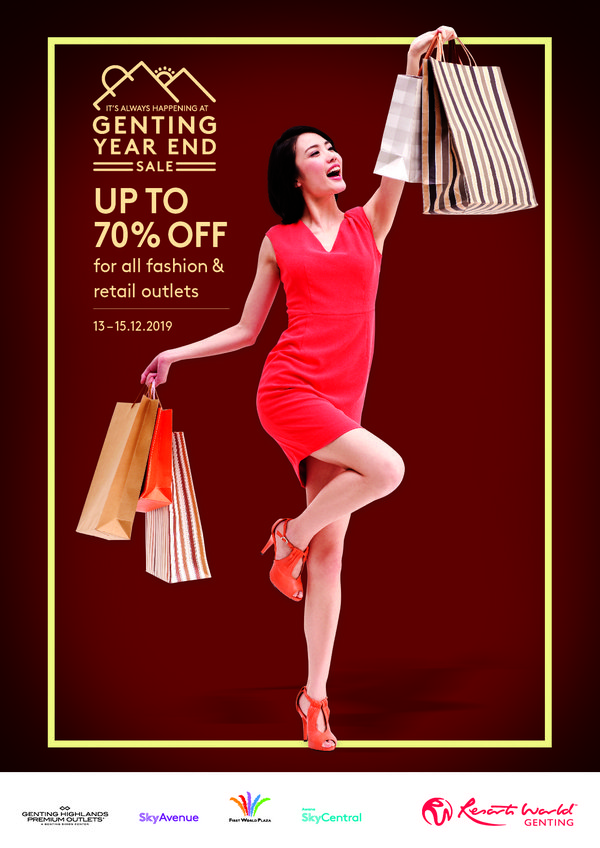 Catch the hottest deals at the Genting Year End Sale 2019