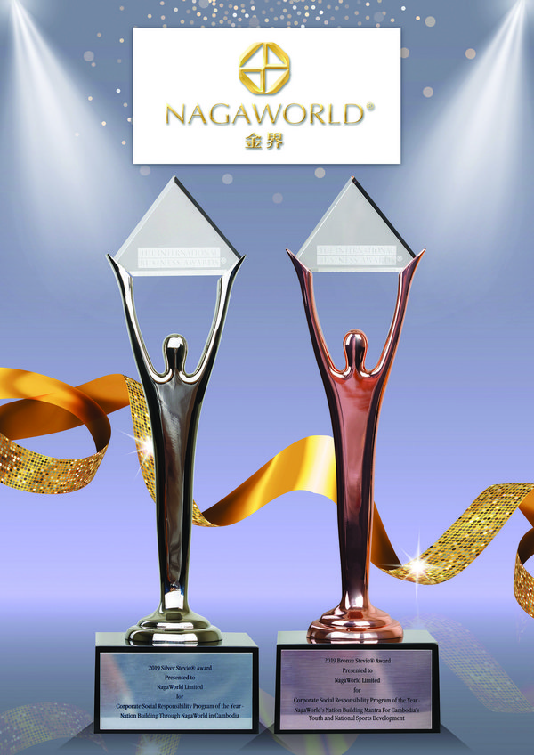 NagaWorld Kind Hearts CSR initiatives were honoured at the 16th Annual International Business Awards(R) in Vienna, Austria.