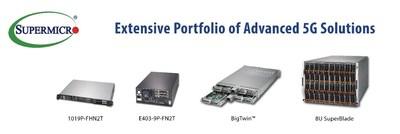 美超微推出用于开放式5G无线接入网解决方案的服务器级边缘系统 | 美通社