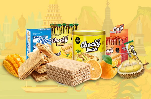 Thailand wafer brand Chocky became No.1 selling in wafer category during China's Double 11 shopping festival