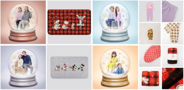 优衣库DISNEY HOLIDAY COLLECTION系列