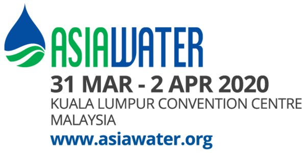ASIAWATER 2020 Returns in Kuala Lumpur from 31 March -- 2 April