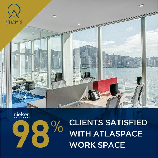 "ATLASPACE Partners with The Nielsen to Release ""Future Trends in Workplace Environment and Preferences Survey 2019"""