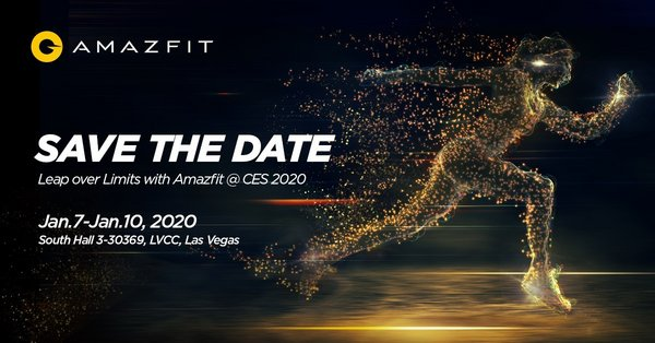 Huami Amazfit Confirms Global Product Launch at CES 2020, Expanding Product Categories Beyond Smartwatch