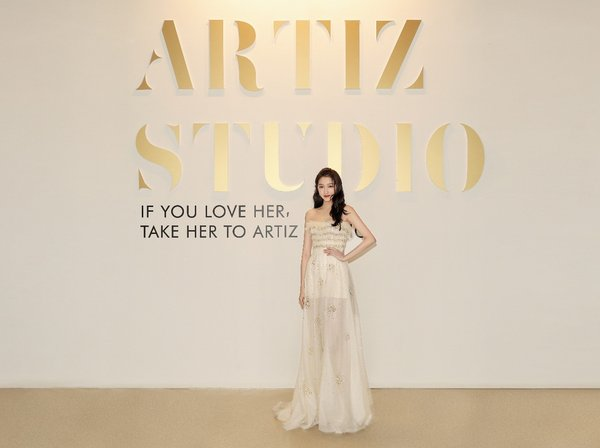 Artiz Studio and icon of China's post-'95s generation, actress Guan Xiaotong, unveil a new collection in Beijing