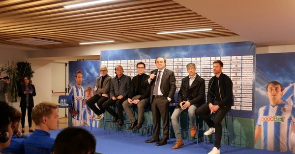 GoodBall becomes the main sponsor of La Liga club Real Sociedad