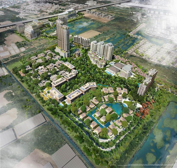 Top Thai developer MQDC to build Thailand's first town purposefully designed for healthier, happier living at The Forestias