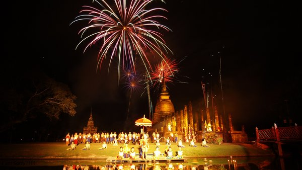 This year TAT is staging its traditional festivities in six emerging destinations comprising Sukhothai, Kalasin, Lop Buri, Ratchaburi, Sa Kaeo, and Phatthalung, in addition to Bangkok.