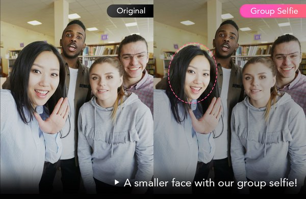Meitu's Group Selfie: Changing the way we take pictures