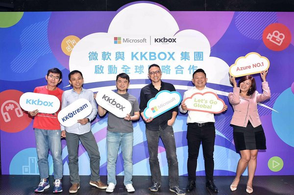 Microsoft and KKBOX Group launch global strategic partnership
