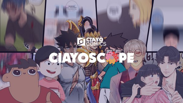CIAYO Comics Introduces CIAYOscope with Latest Line-Up of the Best Comics and Kaleidoscope of 2019