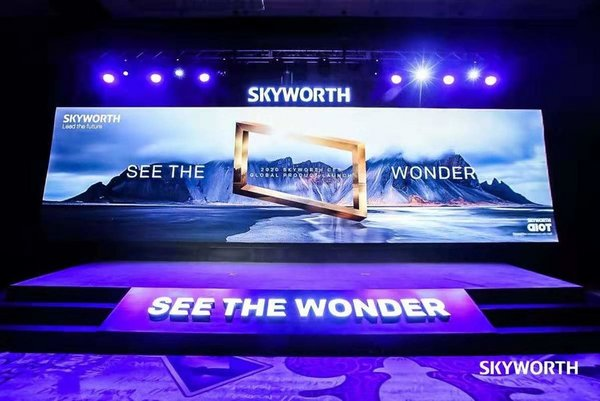 SKYWORTH Holds First-ever Global Product Launch Event in U.S. at CES 2020