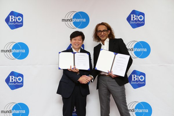 Mundipharma Announces Exclusive Deal for Biosolution's CartiLife(R) in South Korea