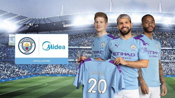 Manchester City Announces New Global Partnership with Consumer Appliances Giant, Midea