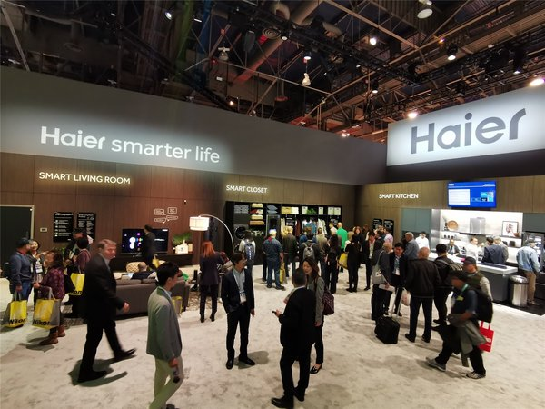 Haier makes presence at CES 2020 in the U.S.